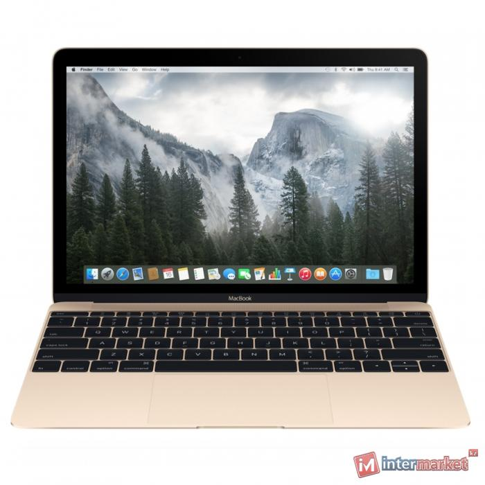 Ноутбук Apple MacBook 12 512Gb Gold (MK4N2)