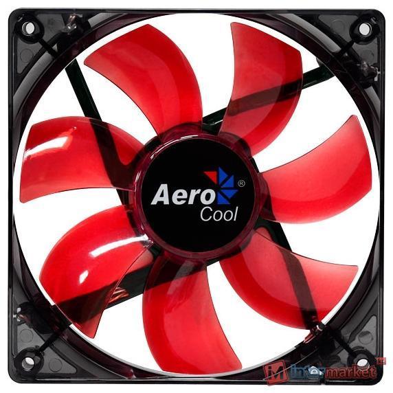 Кулер AeroCool Lightning 12cm Red LED