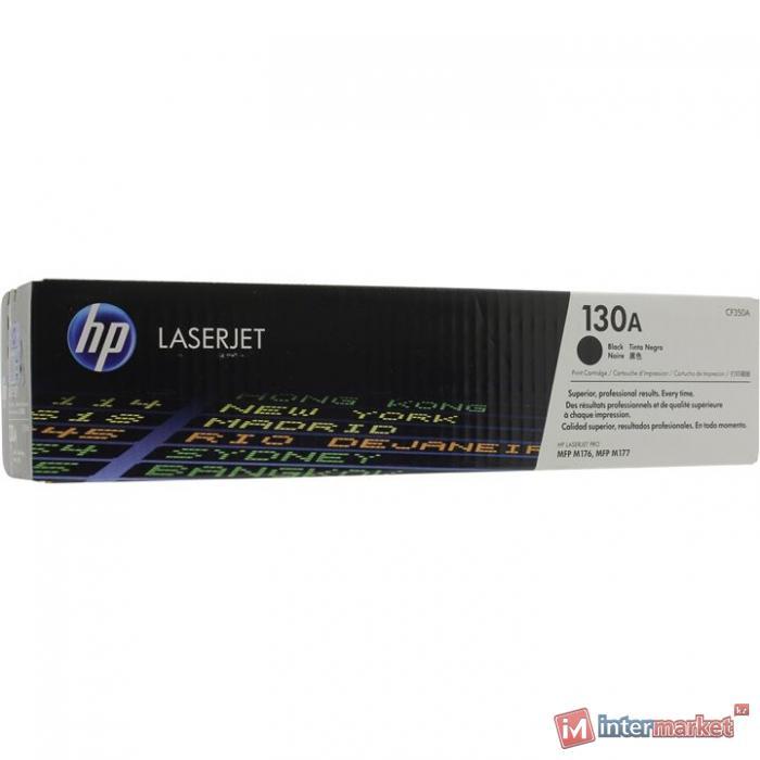 Картридж HP CF350A черный