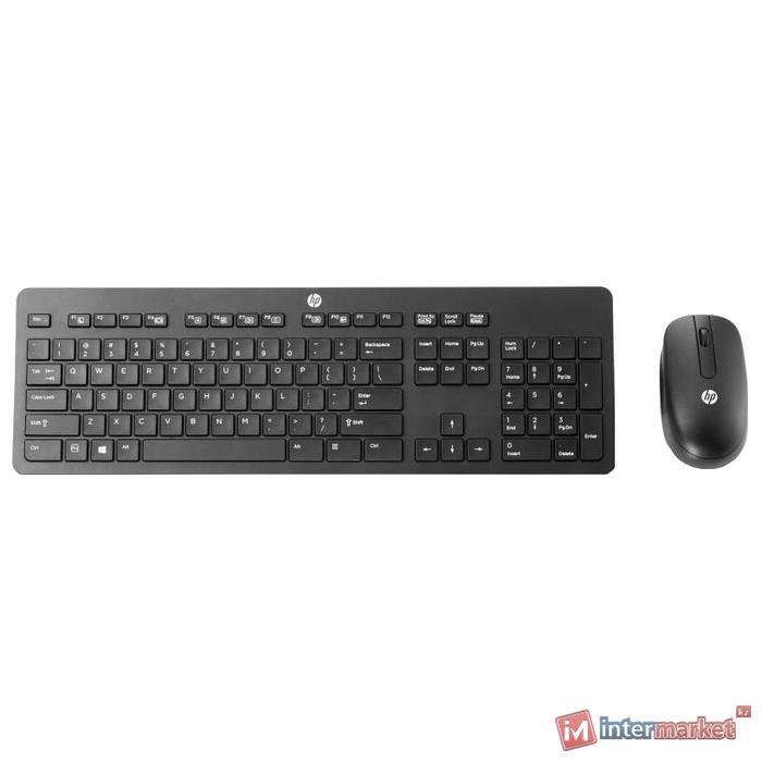 Клавиатура и манипулятор HP Europe Wireless Slim Business Keyboard and Mouse N3R88A6 Беспроводной