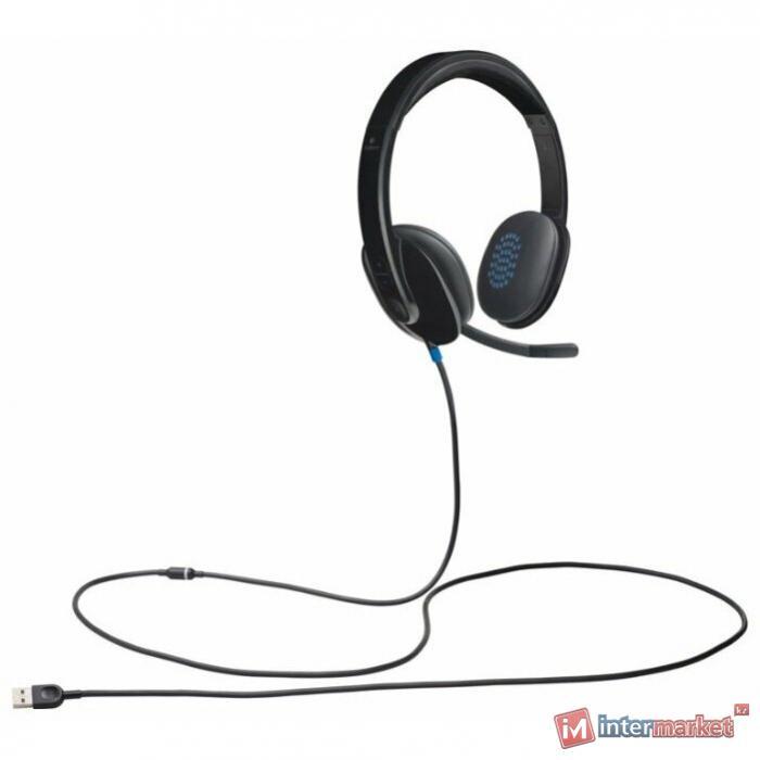 Компьютерная гарнитура L981-000480 LOGITECH Corded USB Headset H540 - USB - EMEA