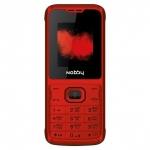 Мобильный телефон Nobby 110 красно-чёрный