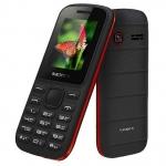 Мобильный телефон Texet TM-130, черно-красный