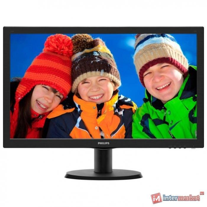 Монитор PHILIPS 243V5QHABA/01 MVA W-LED 1920x1080 8 мс 250кдм 3000:1 1xD-Sub 1xDVI 1xHDMI, Черный