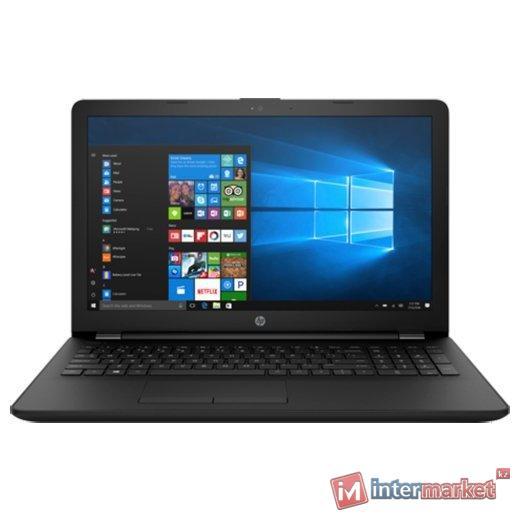 Ноутбук HP 15-bs528ur/Intel CORE I5-7200U/15.6 HD/4GB/1TB/AMD RADEON 520 2GB/DVD/Windows 10/JET BLACK