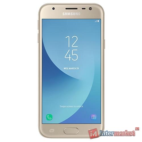 Смартфон Samsung Galaxy J3 (2017) Gold