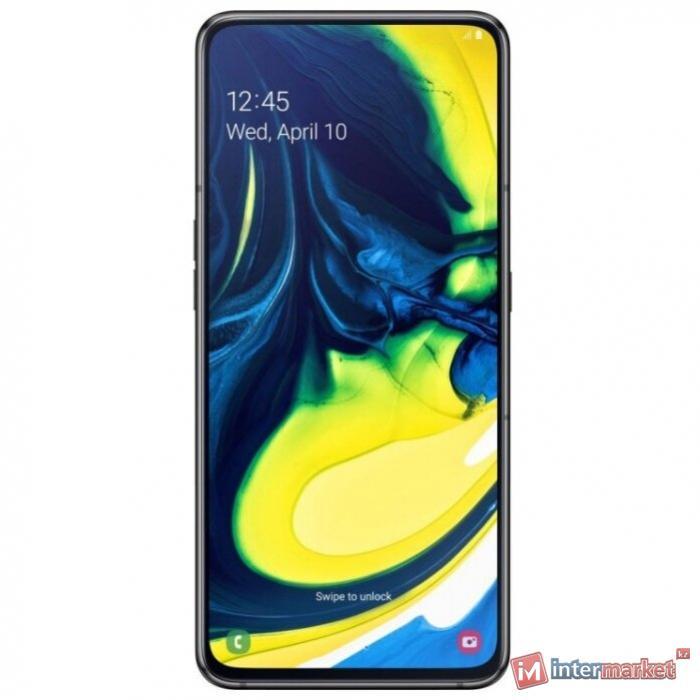 Смартфон Samsung Galaxy A80 Phantom Black