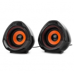 SPK active Gembird SPK-105 (2.0), RMS 2.5Wx2, USB power, Black