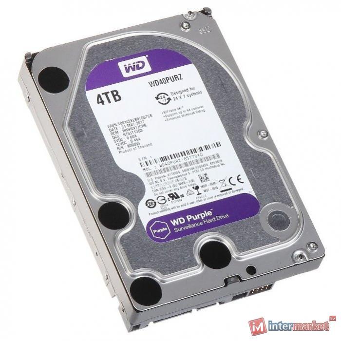 Жёсткий диск Western Digital WD40PURZ